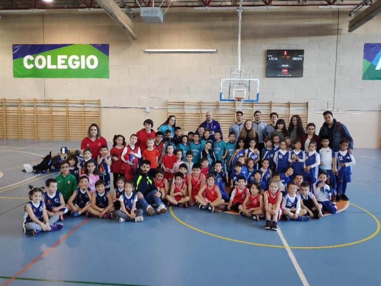 Jornada Babybasket - Colegio Amorós. 23/02/2020