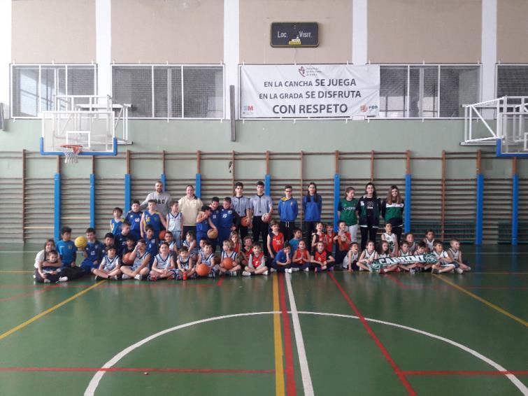 Jornada Babybasket - Colegio Valdeluz. 23/02/2020